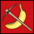 Banana and Pickaxe